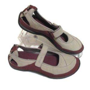 ECCO Tan Brown Suede Shoes 39 US 8 8.5